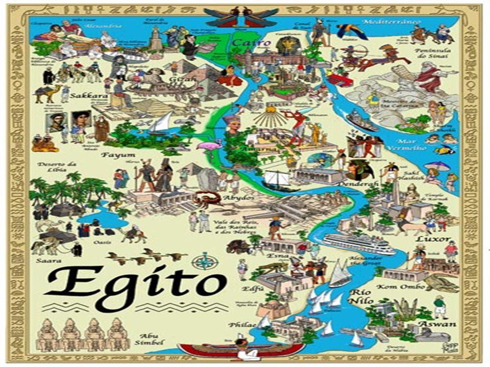 Localização Geográfica O Egito está situado no Nordeste da África em meio a dois imensos desertos: o da Líbia e o da Arábia.