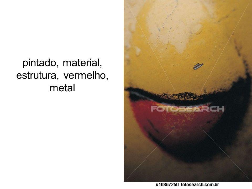 vermelho, cano, porta, material metal