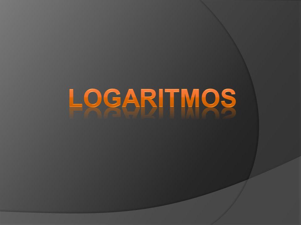 (Puccamp - Sp) A invenção dos logaritmos teve como resultado imediato o aparecimento de tabelas, cujas cálculos eram feitos um a um.