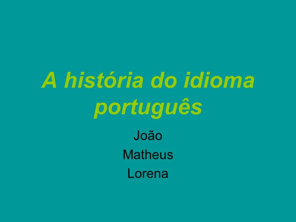 O latim vulgar difundido e modificado na Península Ibérica Foi difundido pelos romanos cujo o idioma era o latim.