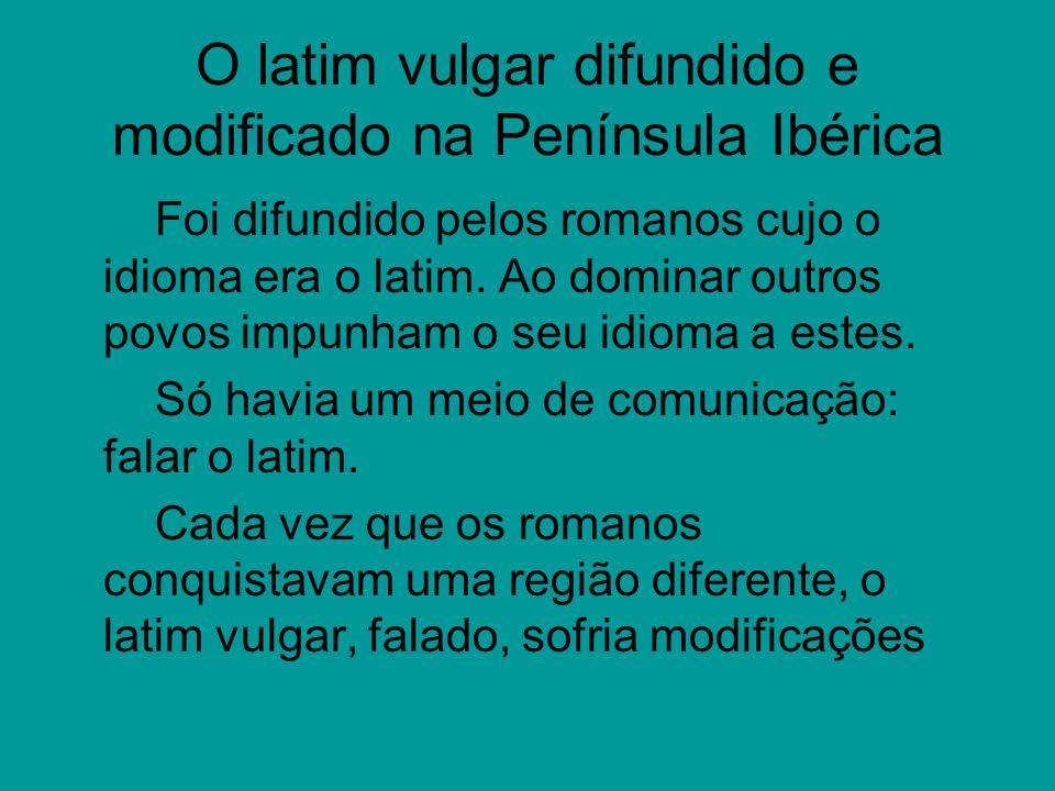 A língua portuguesa sendo levada pelos colonizadores