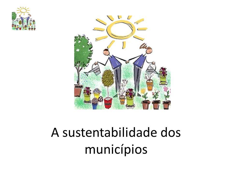 A sustentabilidade dos municípios