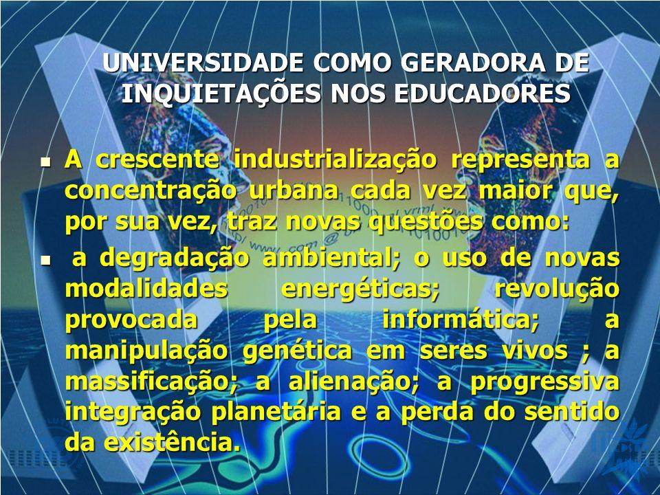 A crescente industrialização representa a concentração urbana cada vez maior que, por sua vez, traz novas questões como: A crescente industrialização