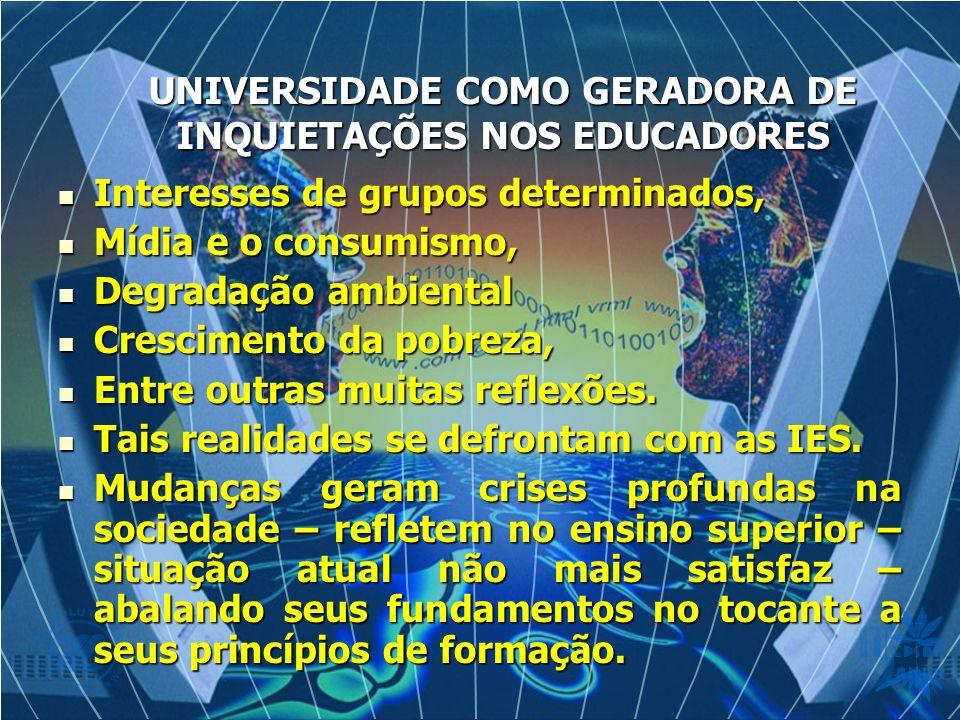 Interesses de grupos determinados, Interesses de grupos determinados, Mídia e o consumismo, Mídia e o consumismo, Degradação ambiental Degradação ambi
