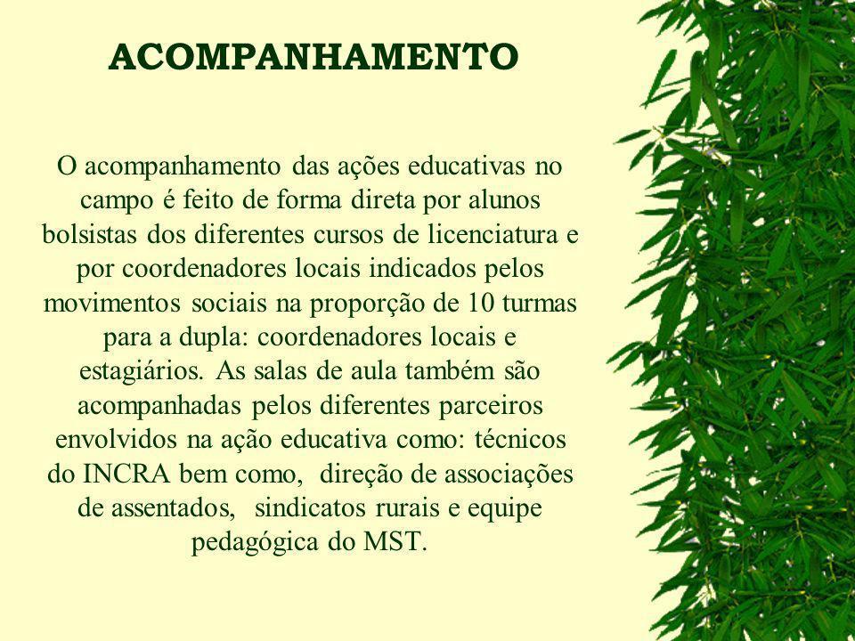 Capacitação de educadores e educadoras de EJA, coordenadores locais e alunos universitários