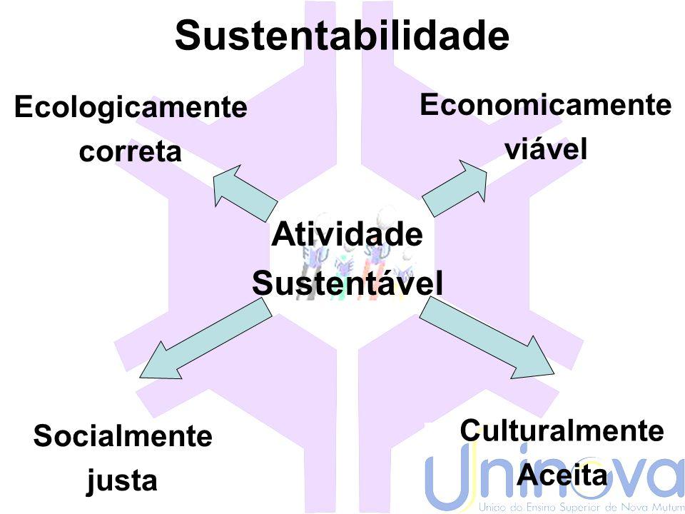 Sustentabilidade Cultural Respeito a afirmação do local, do regional e do nacional no contexto imposto pela globalização
