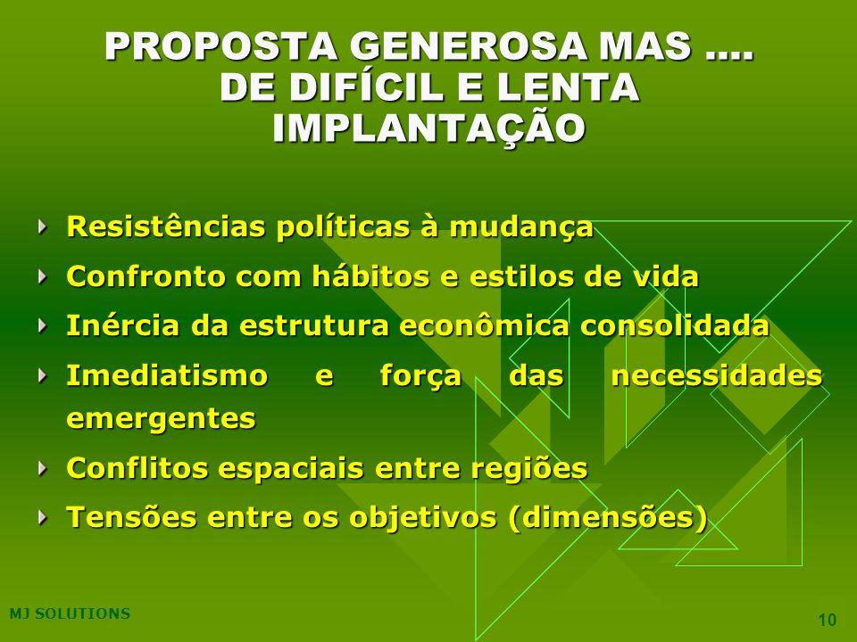 MJ SOLUTIONS 10 PROPOSTA GENEROSA MAS....