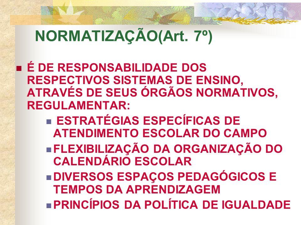 NORMATIZAÇÃO(Art.