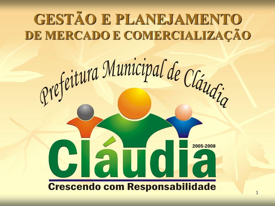1 GESTÃO E PLANEJAMENTO DE MERCADO E COMERCIALIZAÇÃO