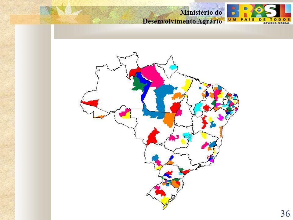 35 Ministério do Desenvolvimento Agrário PROJETOS ESPECÍFICOS 4Apoio às iniciativas de comércio e desenvolvimento de negócios Iniciativas que fomentem