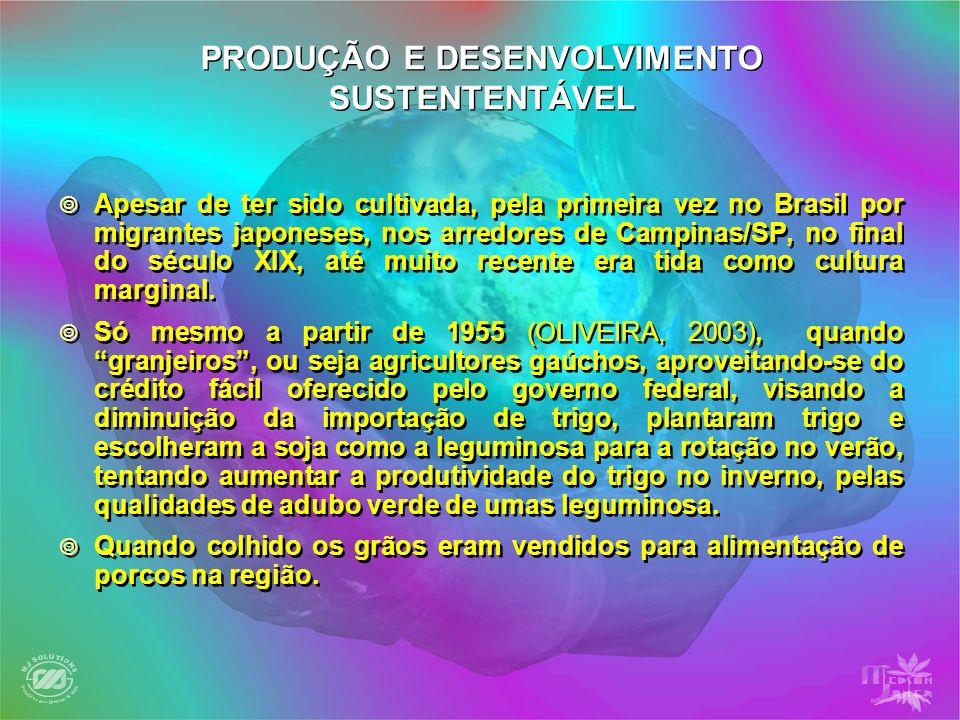Apesar de ter sido cultivada, pela primeira vez no Brasil por migrantes japoneses, nos arredores de Campinas/SP, no final do século XIX, até muito rec