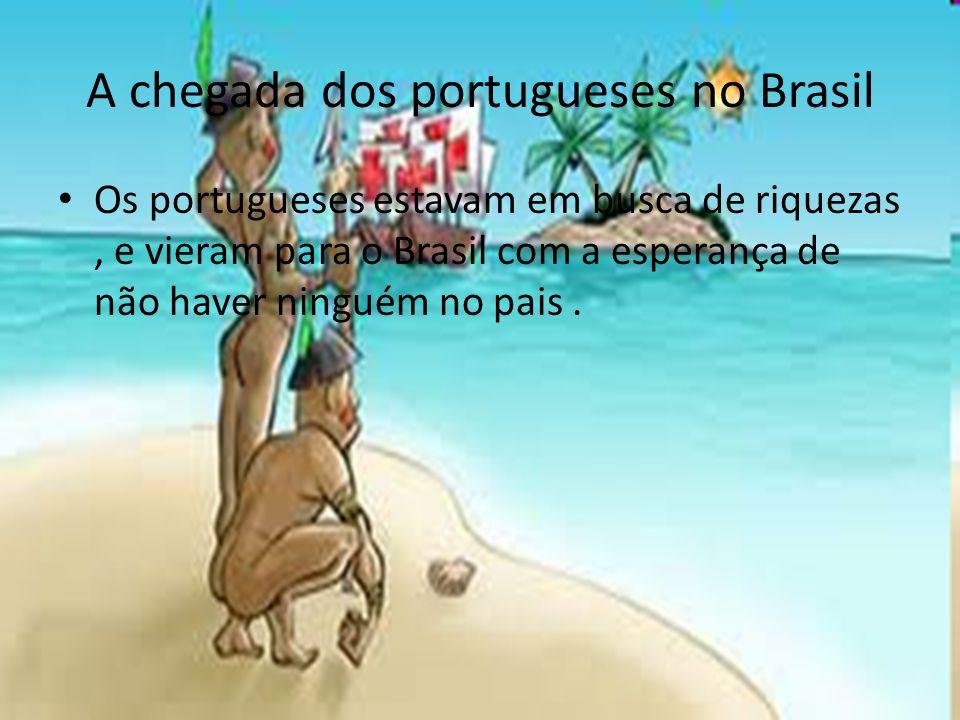 A língua portuguesa sendo modificada pela língua indígena Como os portugueses queriam colonizar os povos indígenas, começaram a catequizá- los e tentaram ensinar sua língua.