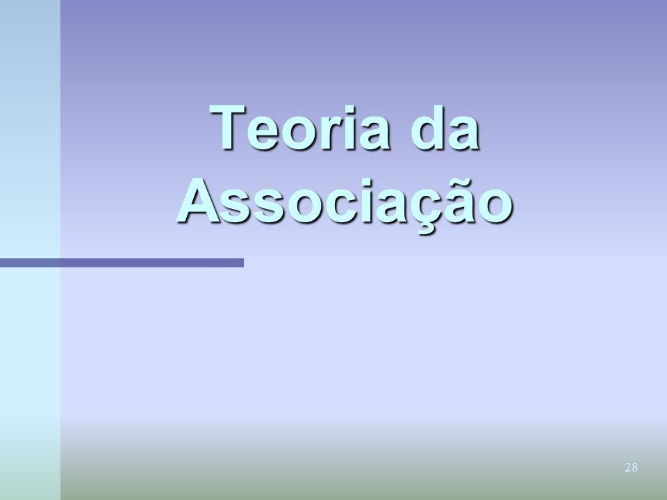 28 Teoria da Associação
