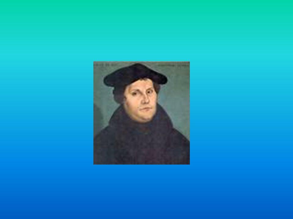 Lutero escolheu exprimir-se em alemão os escritos e não em latim. Escolheu sua língua nacional.