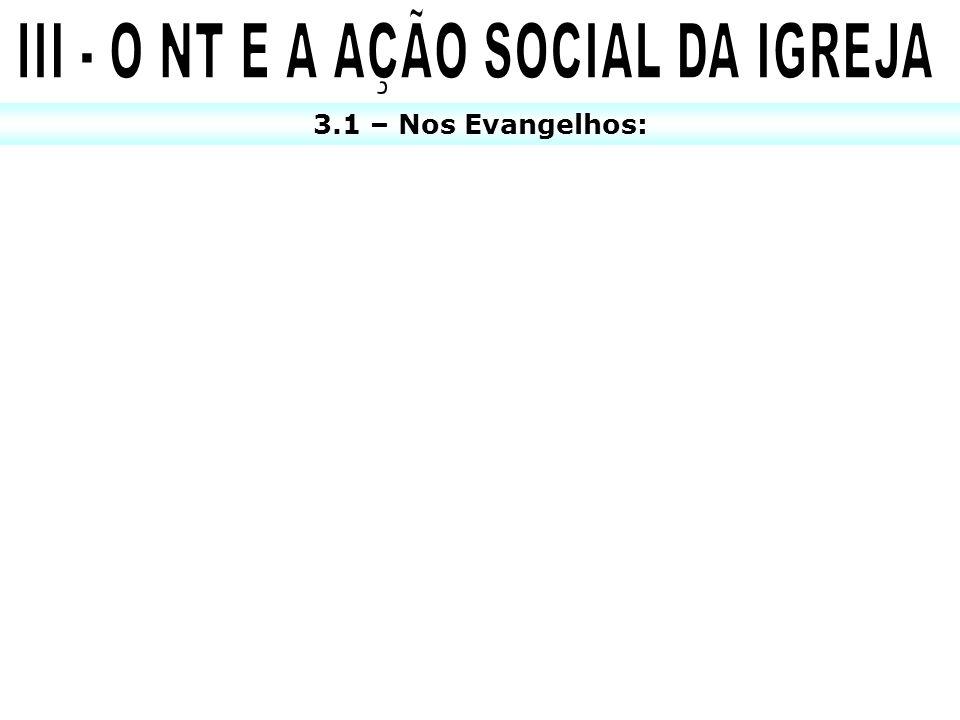 3.1 – Nos Evangelhos: