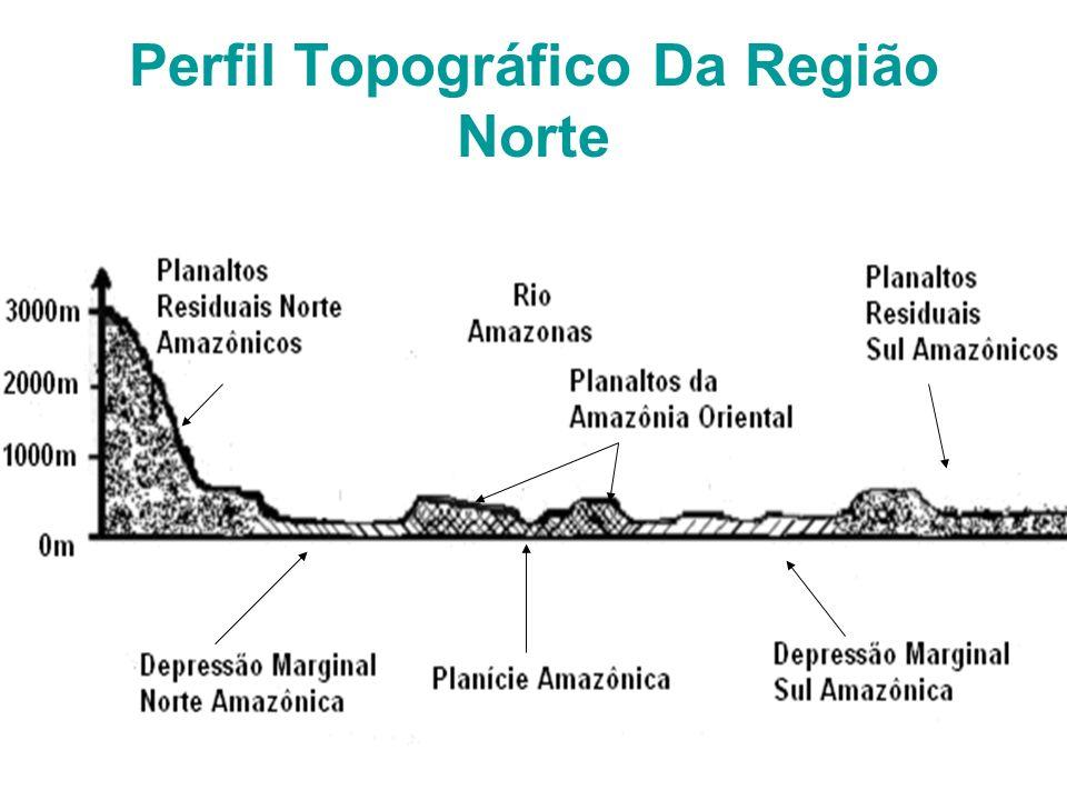 Perfil Topográfico Da Região Norte