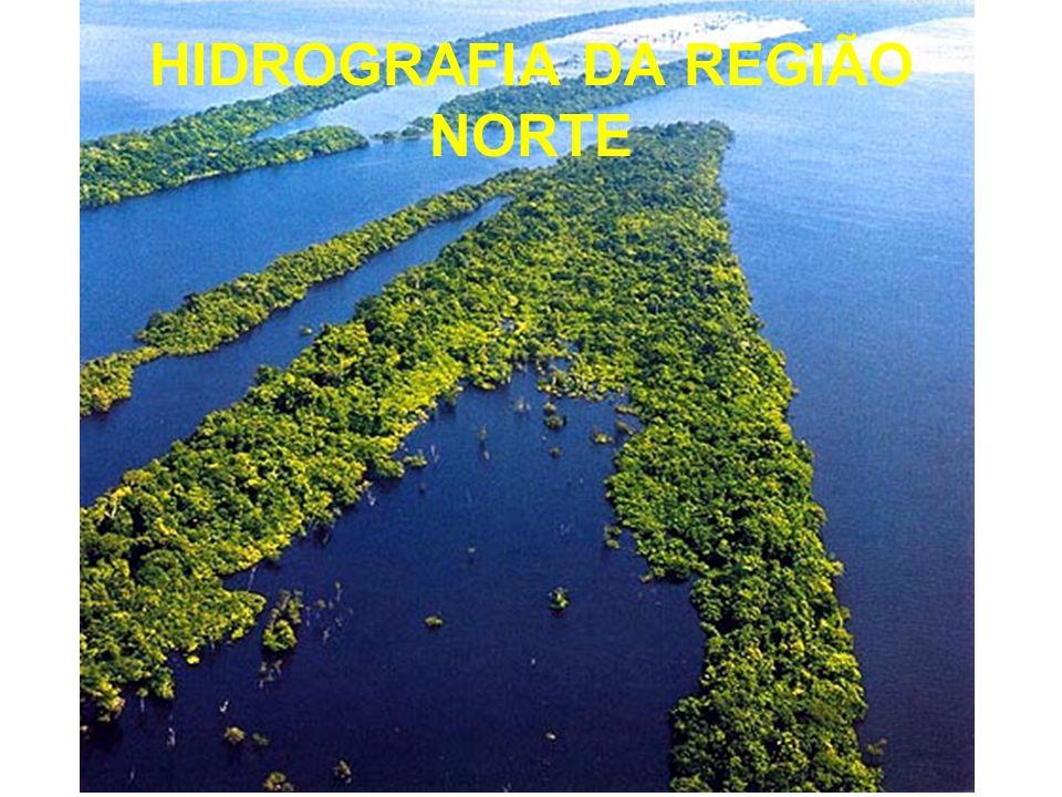 HIDROGRAFIA DA REGIÃO NORTE