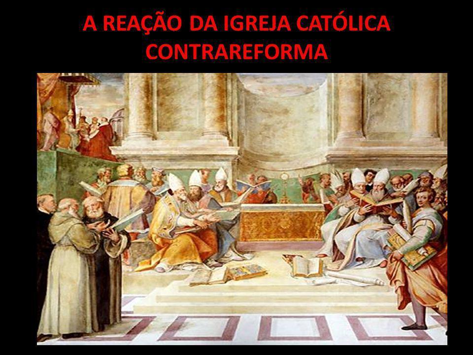 No século XVI, a Igreja Católica estava passando por uma forte crise.
