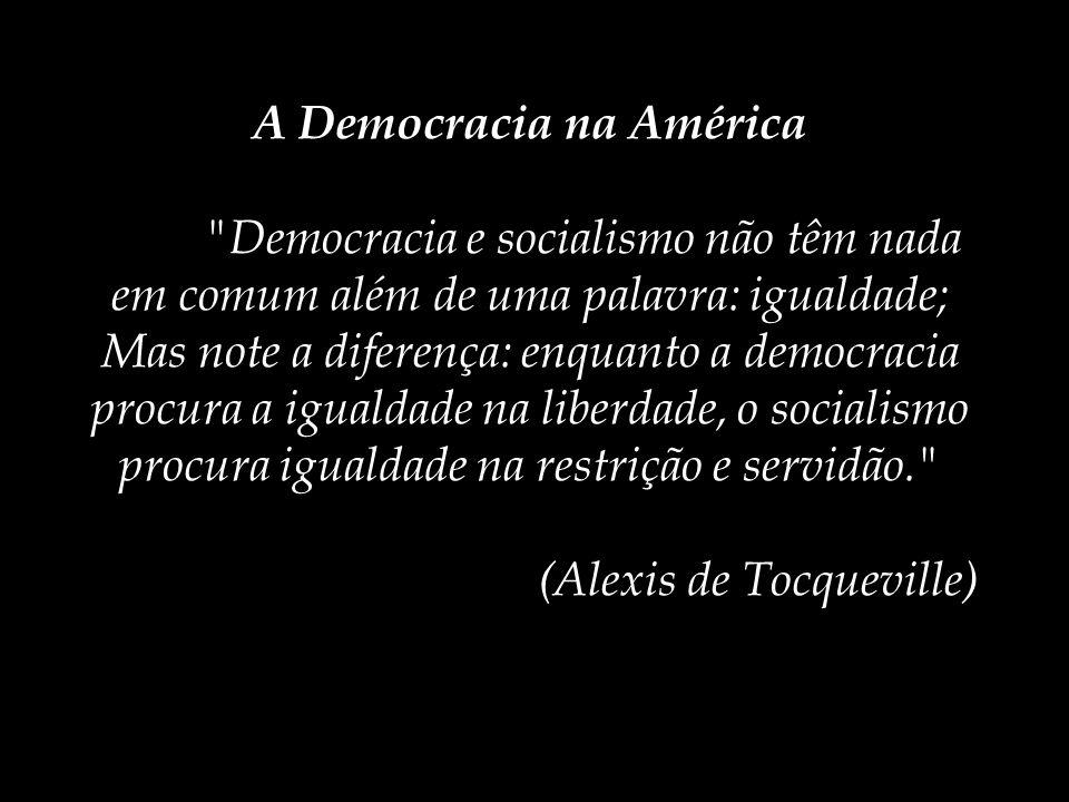 O poder político na visão de Tocqueville Estado Poder Político Participação Política Comportamento Político