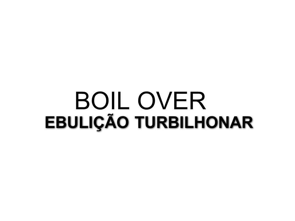 BOIL OVER EBULIÇÃO TURBILHONAR