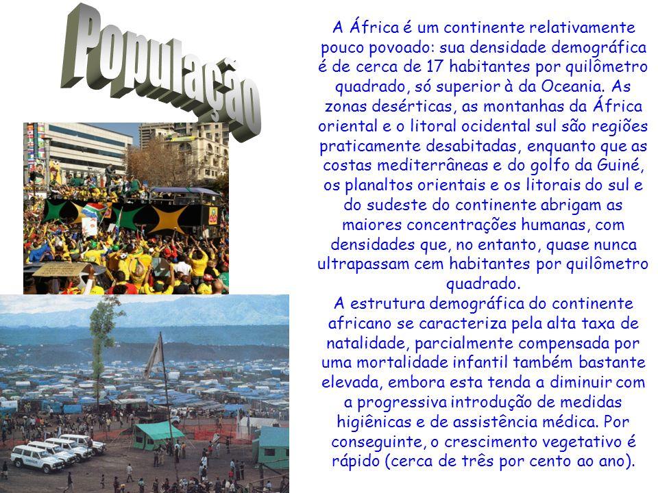 Sul da África: o extremo sul africano é representado pelas diferenças existente ente os onze países no campo sócio- econômico, principalmente, pois o