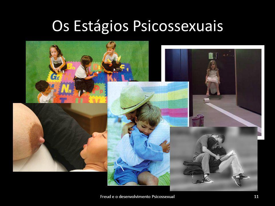 Os Estágios Psicossexuais Freud e o desenvolvimento Psicossexual11