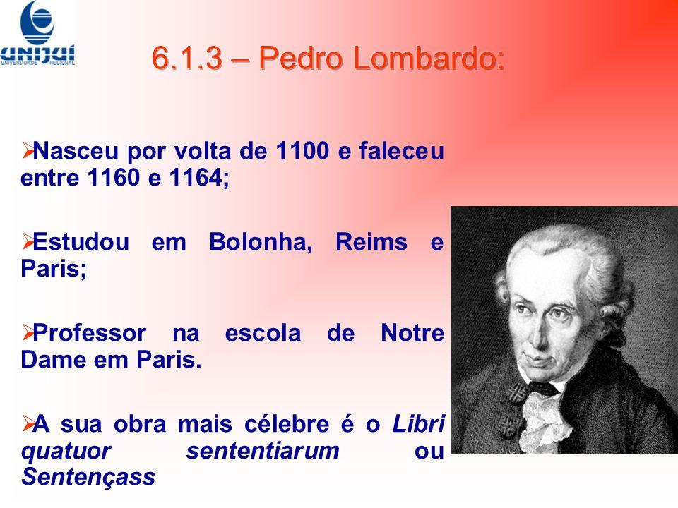 Nasceu por volta de 1100 e faleceu entre 1160 e 1164; Estudou em Bolonha, Reims e Paris; Professor na escola de Notre Dame em Paris. A sua obra mais c