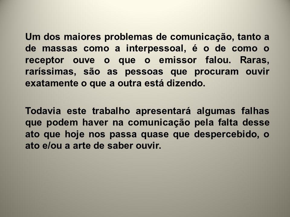 A arte de ouvir Por Luiz Antônio Moreira e Marcelo S.