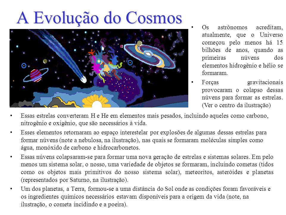 A Terra Prebiótica Os eventos finais mais importantes que levaram à orígem da vida são, provavelmente, os capítulos menos entendidos da história.