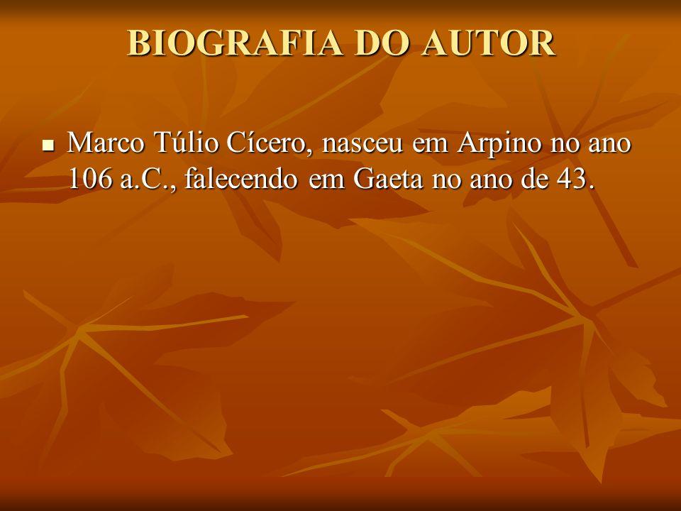 Cícero, Marco Túlio, DA REPÚBLICA.Editora Atenas, São Paulo.