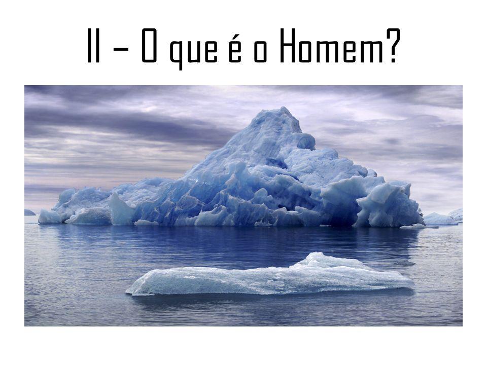 II – O que é o Homem?