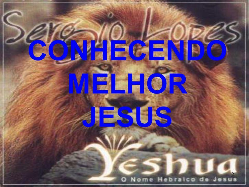3 CONHECENDO MELHOR A JESUS 25 Naquele tempo falou Jesus, dizendo: Graças te dou, ó Pai, Senhor do céu e da terra, porque ocultaste estas coisas aos sábios e entendidos, e as revelaste aos pequeninos.