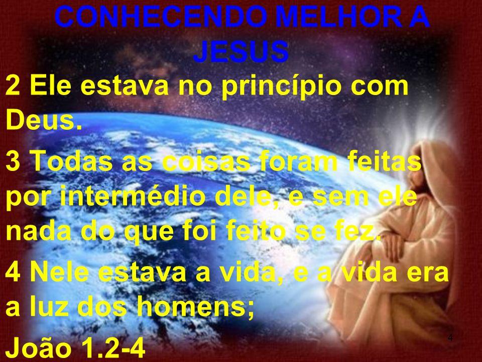 5 O que vamos aprender: Compreender que o Filho de Deus se fez homem para salvar a humanidade Acrescentar conhecimentos acerca da natureza de Cristo Avaliar a importância da missão de Jesus aqui na terra CONHECENDO MELHOR A JESUS