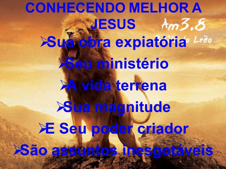 8 I.A NATUREZA DE CRISTO 1.