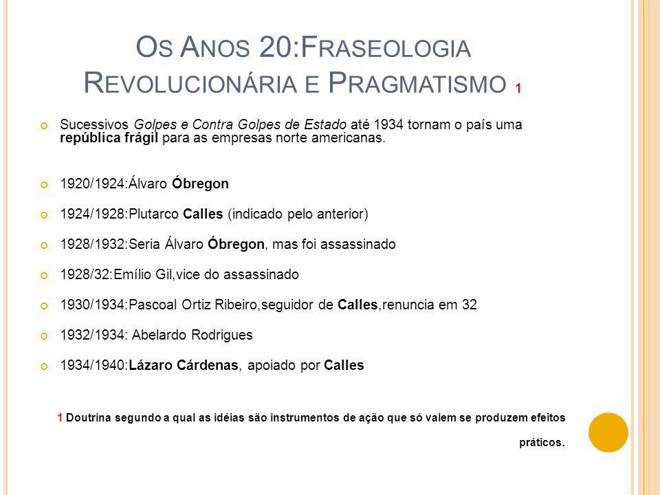 1958-1964 A DOLFO L ÓPEZ A mais a esquerda das gestões do PRI.