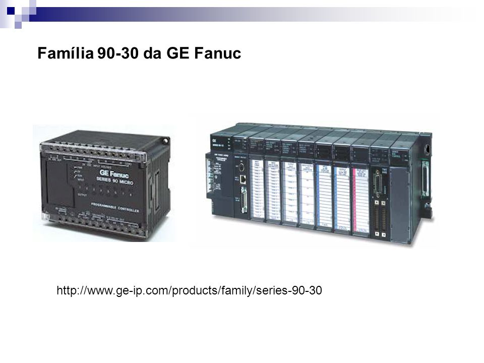 Família ControlLogix http://ab.rockwellautomation.com/programmable-controllers/slc-500