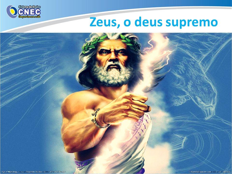 Zeus sonhava em destronar o pai, mas não conseguiria fazer isso sozinho.