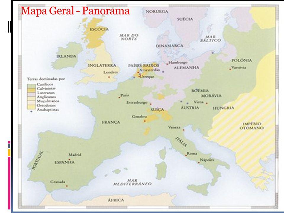 Mapa Geral - Panorama