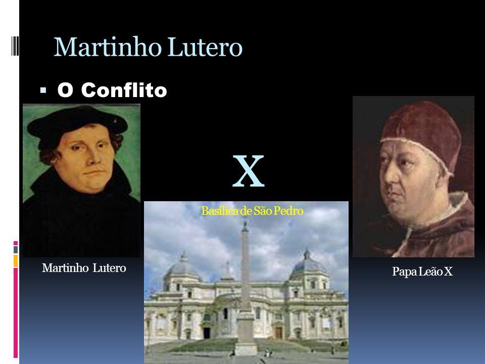 Martinho Lutero O Conflito A data de 31 de outubro de 1517 ficou marcada como o início da reforma protestante, pois foi quando Lutero pregou suas 95 teses nas portas do castelo de Wittemberg, justamente na véspera da festa de todos os santos.