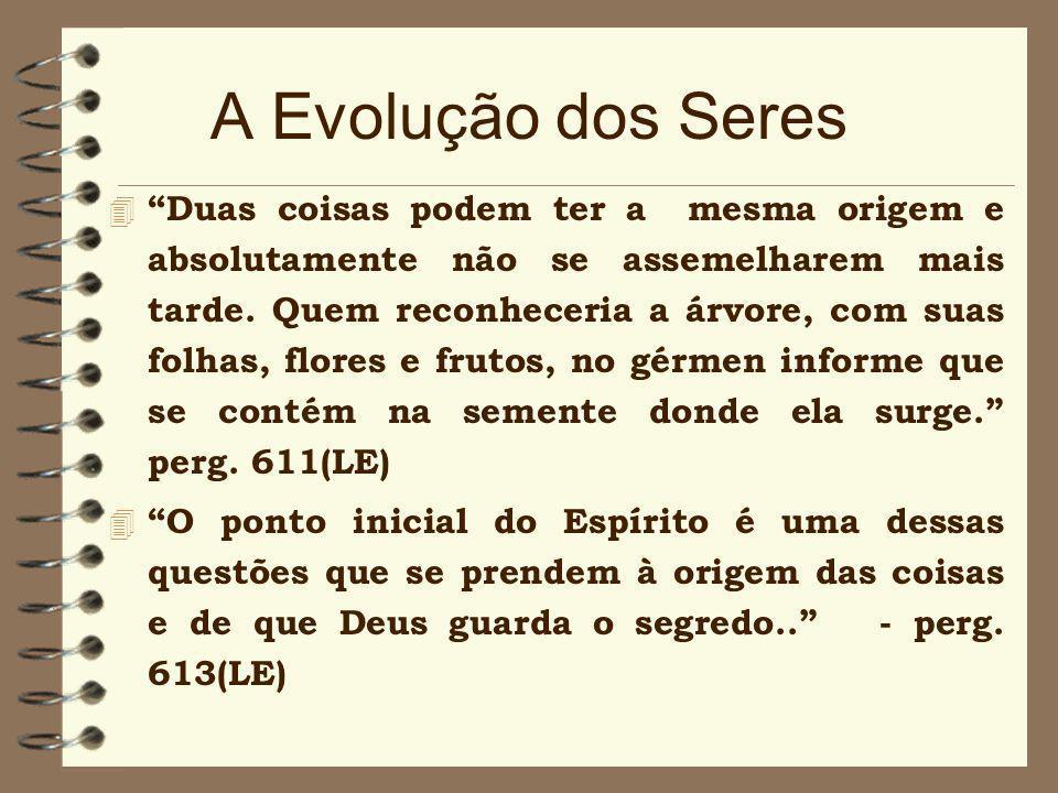 Criacionismo Espírita 4 É fora de dúvida que ele(o Universo) não pode ter-se feito a si mesmo. Se existisse, como Deus, de toda a eternidade, não seri