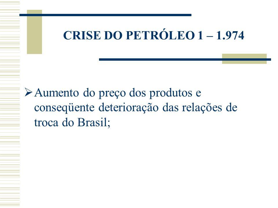 ESTRATÉGIA ADOTADA PELO BRASIL: Manutenção do crescimento da produção de bens e serviços, embora em ritmo inferior (inexistência de uma estrutura de seguro desemprego).