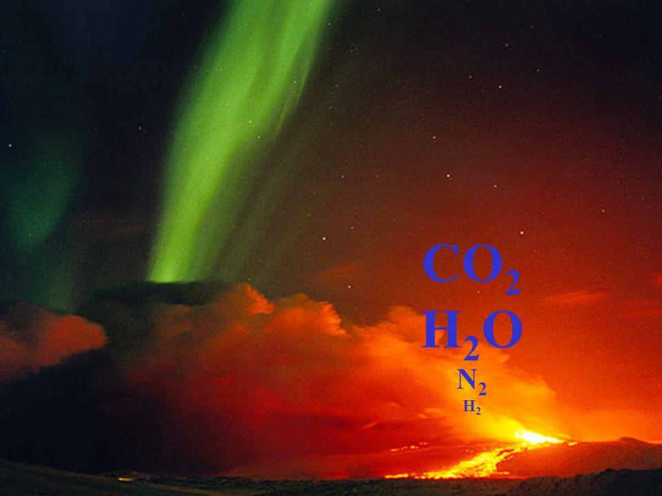 CO 2 H 2 O N 2 H 2