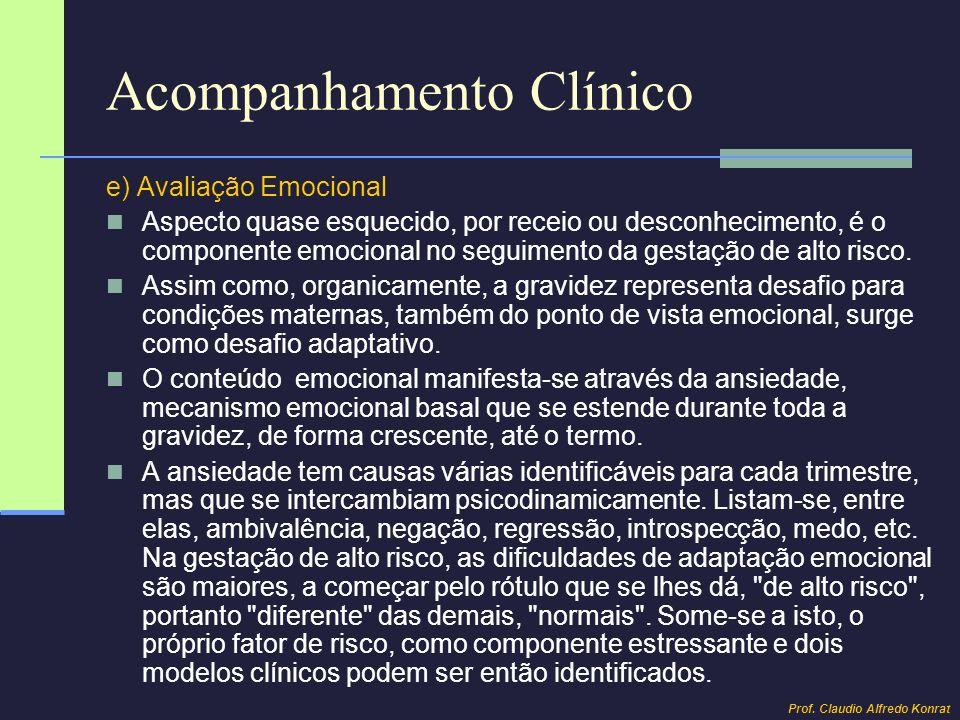 Síndromes Hipertensivas Gestacionais Gestação de Alto Risco Prof. Claudio Alfredo Konrat