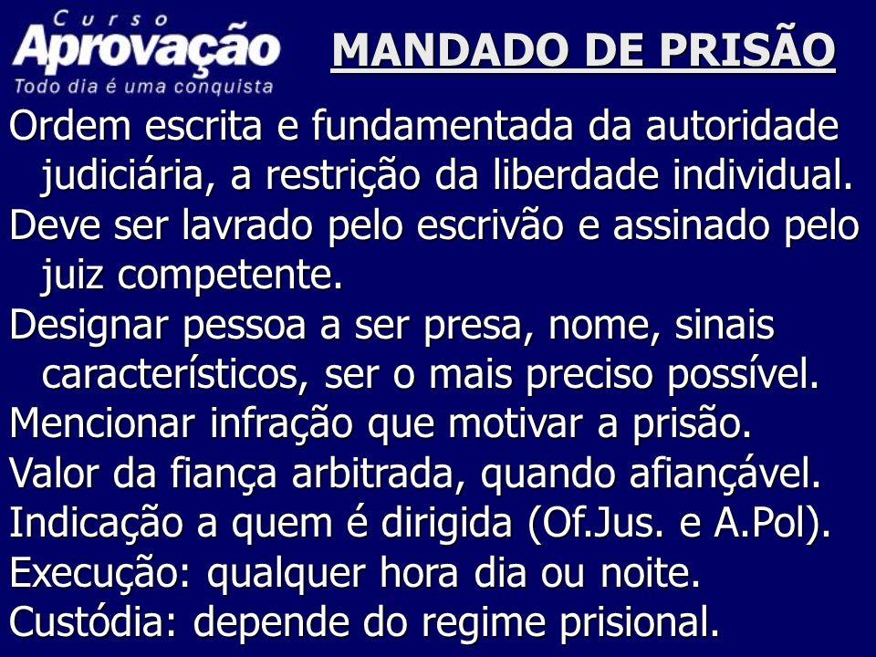 PRISÃO FLAGRANTE Certeza visual do crime Certeza visual do crime, ardência, calor.
