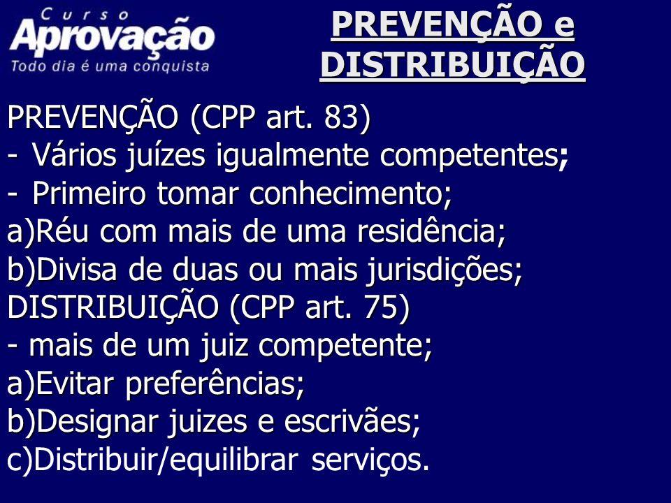 CONEXÃO e CONTINÊNCIA CONEXÃO (CPP art.