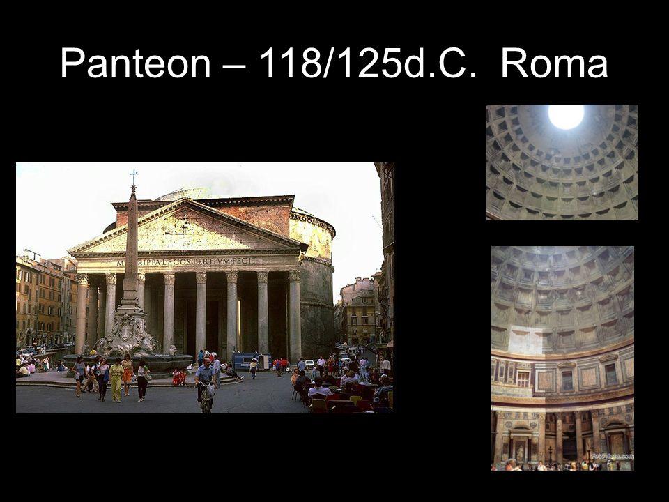 Panteon – 118/125d.C. Roma