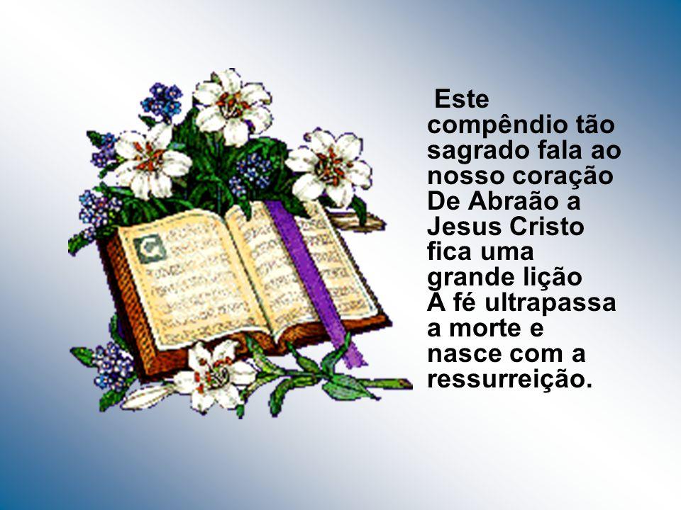 Que tua Palavra preserve as nossas famílias Oriente nossos filhos, guie as nossas nações Bíblia Sagrada fonte viva de partilha Indicação que nos brilh
