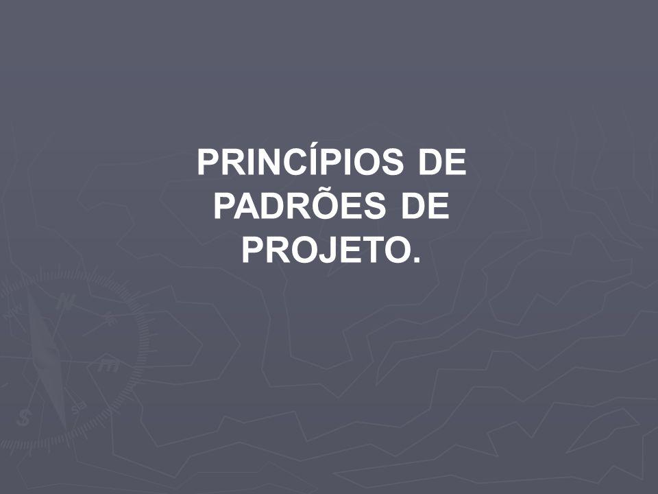 Princípio Aberto Fechado Entidades de software como classes, módulos e funções devem ser abertas para expansão, mas fechadas para modificações