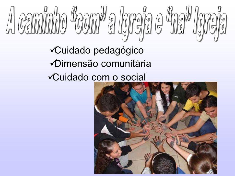 Cuidado pedagógico Dimensão comunitária Cuidado com o social