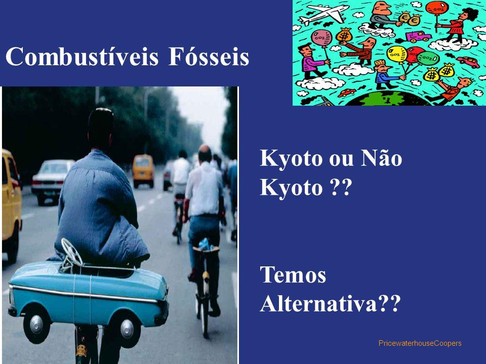 PricewaterhouseCoopers Kyoto ou Não Kyoto ?? Temos Alternativa?? Combustíveis Fósseis